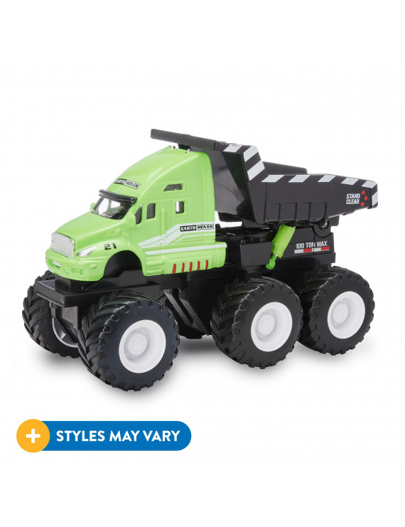 Adventure Force Large 6x6 Die Cast Construction Vehicles, Style Will Vary