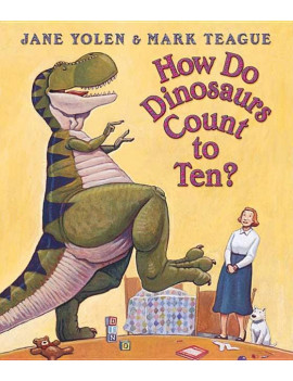 How Do Dinosaurs...: How Do Dinosaurs Count to Ten? (Board Book)