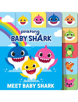 Baby Shark: Meet Baby Shark (Board Book)