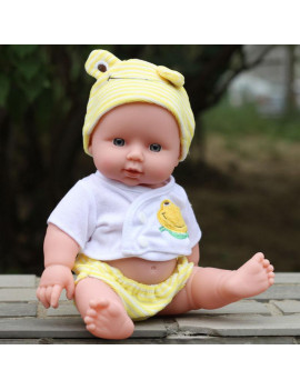 12 inch Lifelike Reborn Dolls Baby Realistic Silicone Vinyl Newborn Girl doll Dolls Handmade Alive Doll for Toddler Kid Gifts