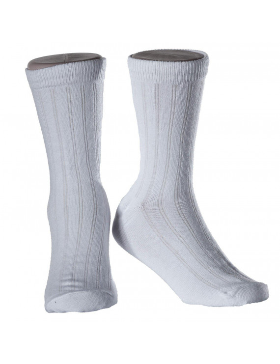 Kids Rib Crew Dress Sock 2 Pack