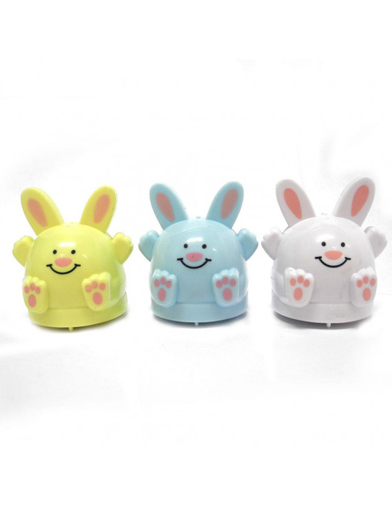 Easter Kids Funny Toy Pull Back Bunnie Assortment, Single (Assorted/Color May Vary)
