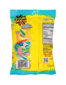 Sour Patch Kids Tropical Soft & Chewy Candies, 8 Oz.