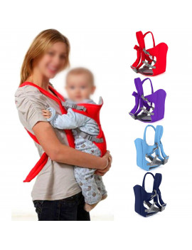 1Pc Newborn Infant Baby Carrier Backpack Breathable Front Back Carrying Wrap Sling Seat New , Baby Wrap,Baby Sling