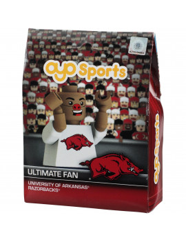 Arkansas Razorbacks OYO Sports Fan Face Minifigure