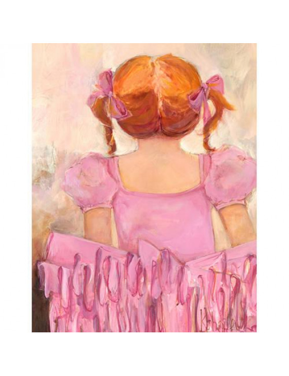 Oopsy Daisy's Angelic Ballerina Red Hair Canvas Wall Art, 14x18