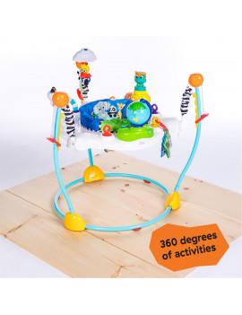 Baby Einstein Journey of Discovery Jumper Activity Center with Lights and Melodies