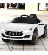 Gymax 12V Maserati Licensed Kids Ride on Car w/ RC Remote Control Led Lights MP3