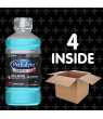 Pedialyte AdvancedCare Plus Electrolyte Drink, 1 Liter, 4 Count, with 33% More Electrolytes and has PreActiv Prebiotics, Berry Frost