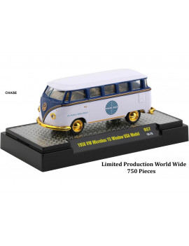 """Auto Trucks"" Release 57, Set of 6 pieces ""Pan American World Airways"" (Pan Am) 1/64 Diecast Model Cars by M2 Machines"