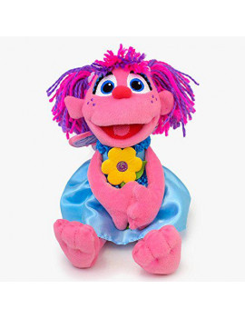 Gund Sesame Street Abby with Flowers Stuffed Animal