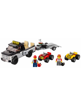 LEGO City ATV Race Team 60148 Building Kit with Toy Truck (239 Pcs)