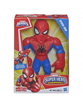 Marvel Super Hero Adventures Mega Mighties Spider-Man 10-In Figure