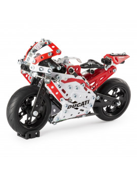Erector by Meccano Ducati GP Model Motorcycle Building Kit, STEM Engineering Education Toy, 358 Parts, for ages 10 and up