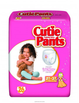 Cuties Training Pants for Girls (Choose Size and Count)