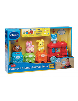 VTech Connect and Sing Animal Train Learning Pull Toy
