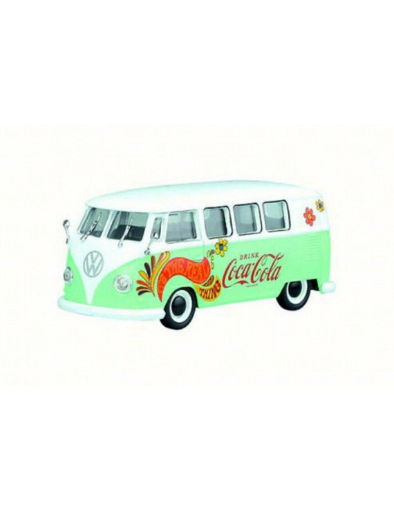1959 Volkswagen T1 Samba Bus/Combi, Green/White - Motorcity Classics 478064 - 1/43 Scale Diecast Model Toy Car