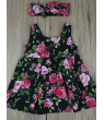 Toddler Kids Baby Girl Party Princess Floral SUMMER Dress Pageant Clothes