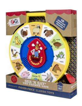 Fisher Price Classics - See 'n Say - Farmer Says