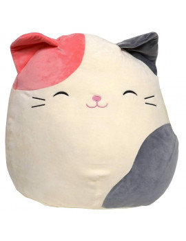 "Kellytoy Squishmallows 8"" Pink and Gray Cat Plush Pillow, Made from very soft and squishable polyester By Kelly Toy"