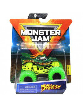 Dragon Green Tires Monster Jam Truck with VIP Wristband Series 11