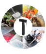Greensen Spray Bidet, Shower Bidet,Stainless Steel Black Bathroom Toilet Handheld Bidet Cloth Diaper Cleaning Sprayer Shattaf Kit