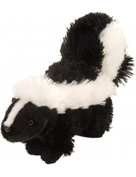 Skunk Plush, Stuffed Animal, Plush Toy, Gifts for Kids, Cuddlekins 8 Inches, Life doesn't have to be so black and white, but this remarkable skunk stuffed animal.., By Wild Republic