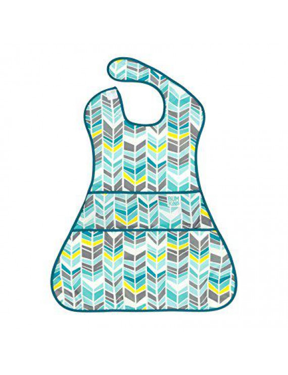 Supersized Super Bib - Bumkin - Quill Waterproof 6-24M New SS-105