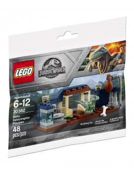LEGO 30382 Jurassic World Baby Velociraptor Playpen Polybag Set
