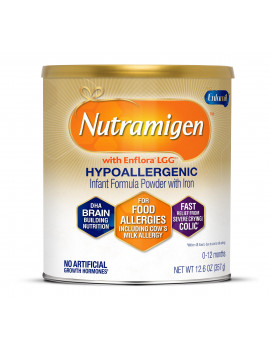 Nutramigen Hypoallergenic Infant Formula with Enflora LGG - Powder, 12.6 oz Can