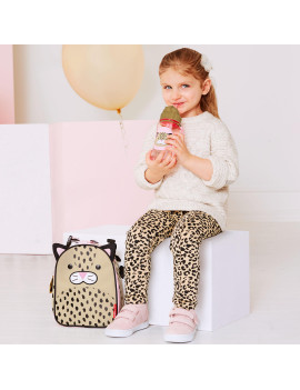 Skip Hop Zoo Straw Bottle, Leopard