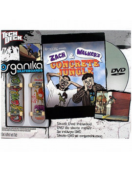 Tech Deck 20022508 Organika Skateboards, 2 Boards And Skate Dvd