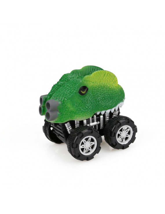 【LNCDIS】Dinosaur Friction Powered Car Pull Back Vehicle Mini Animal Car Toy For Gifts Ki