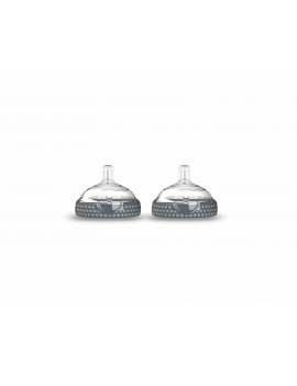 Baby Brezza Baby Bottle Replacement Parts - Stage 1, 2 Pack, Grey