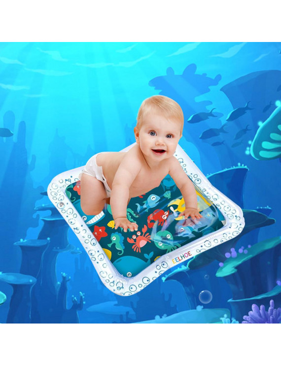 Baby Water Mat Water Play Mats for Infants Tummy Time Water Mat for Babies