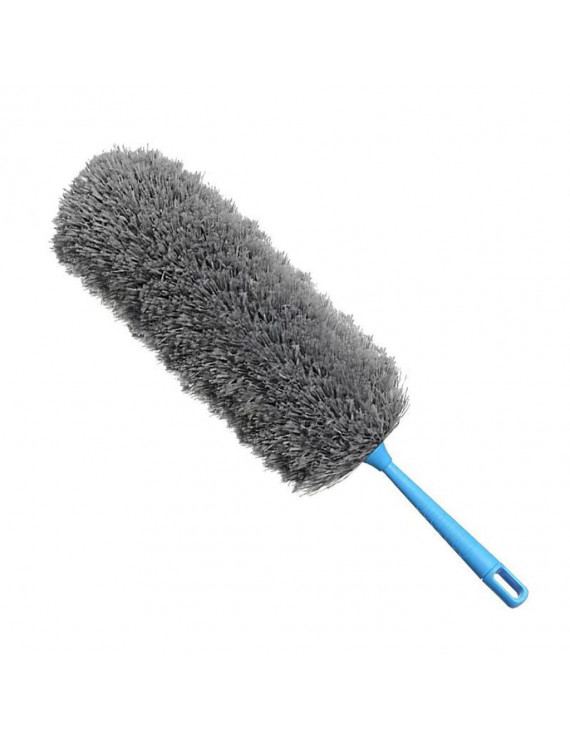 Removable And Washable Telescopic Dust Collector Microfiber Cleaning Brush