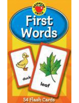 Brighter Child Flash Cards: First Words Flash Cards (Other)