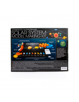 4M 3D Glow-In-The-Dark Solar System Model Making Science Kit, STEM
