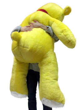 5 Foot Super Soft Yellow Teddy Bear Big Plush 60 Inch Large Stuffed Animal Made in USA