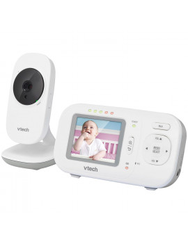 "VTech 2.4"" Full-Color Digital Video Baby Monitor & Automatic Night Vision, VM2251"
