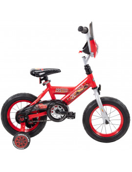 "Disney / Pixar Cars Lightning McQueen 12"" EZ Build Bike by Huffy"