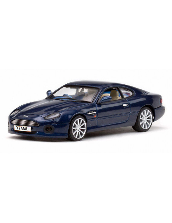 Aston Martin DB7 Vantage, Blue - Sun Star 20652 - 1/43 Scale Diecast Model Toy Car