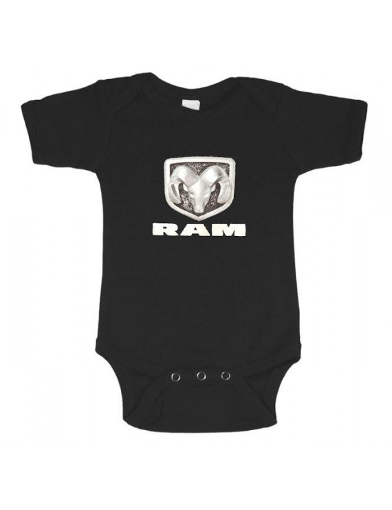 Infant one piece tee Dodge decal baby t-shirt newborn snapsuit