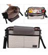 Yosoo 2 Colors Multi-function Diaper Bag Mummy Storage Bag for Baby Stuff Collection, Nappy Bag, Baby Bag Diaper