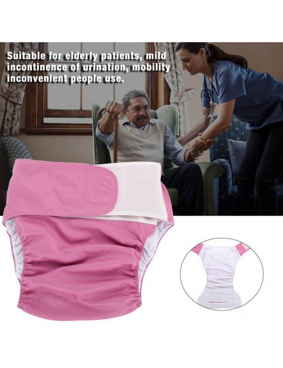 YLSHRF Adjustable Nappy,Adult Cloth Diaper,4 Colors Adult Cloth Diaper Reusable Washable Adjustable Large Nappy