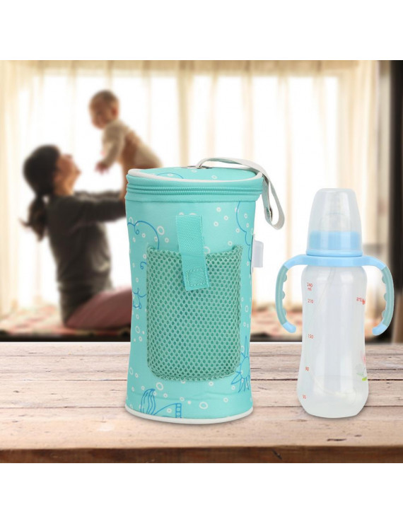 YLSHRF USB Baby Bottle Warmer Heater Insulated Bag Travel Cup Portable In Car Heaters ,Warm Milk Thermostat Bag,USB Baby Bottle Warmer