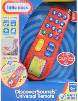 Little Tikes Discover Sounds Universal Remote