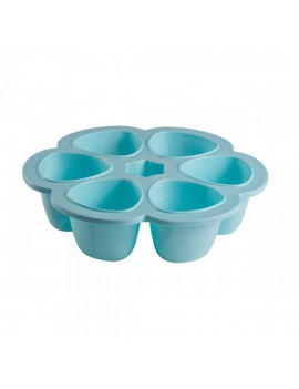 Beaba Multiportions 5oz Silicone Tray - Sky