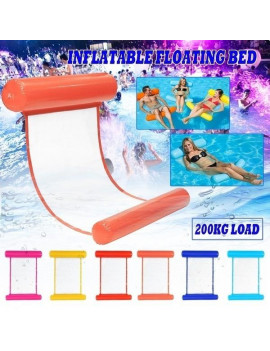 47 x 28inch Inflatable Water Hammock Water Floating Bed Adult Swimming Floating Bed Pool Floats Inflatable Sun Lounger for Beach Pool Swimming Sports Party