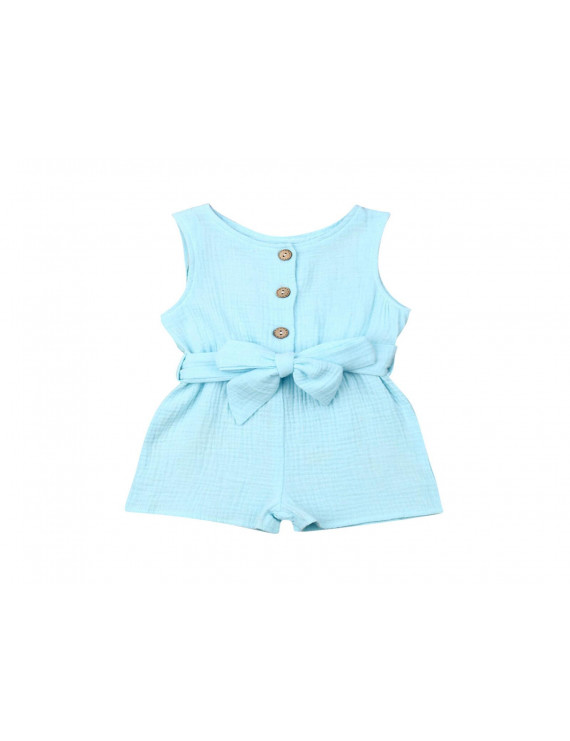 Infant Baby Girl Sleeveless Romper Summer Bodysuit Outfits Jumpsuit Clothes